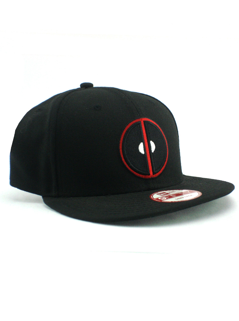 New Era Deadpool Logo Black 9fifty Snapback Hat View 1 075fe870eba