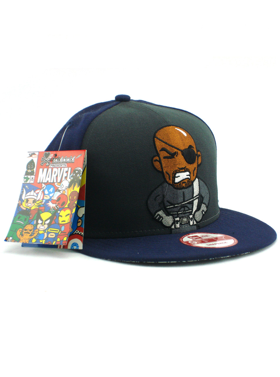 aa55b3e02de New Era Tokidoki Nick Fury 9fifty Snapback Hat View 1