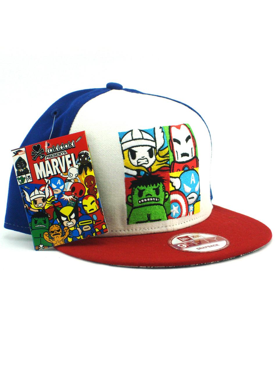 d72c1943ab7 New Era Tokidoki Avengers Square Portrait 9fifty Snapback Hat View 1