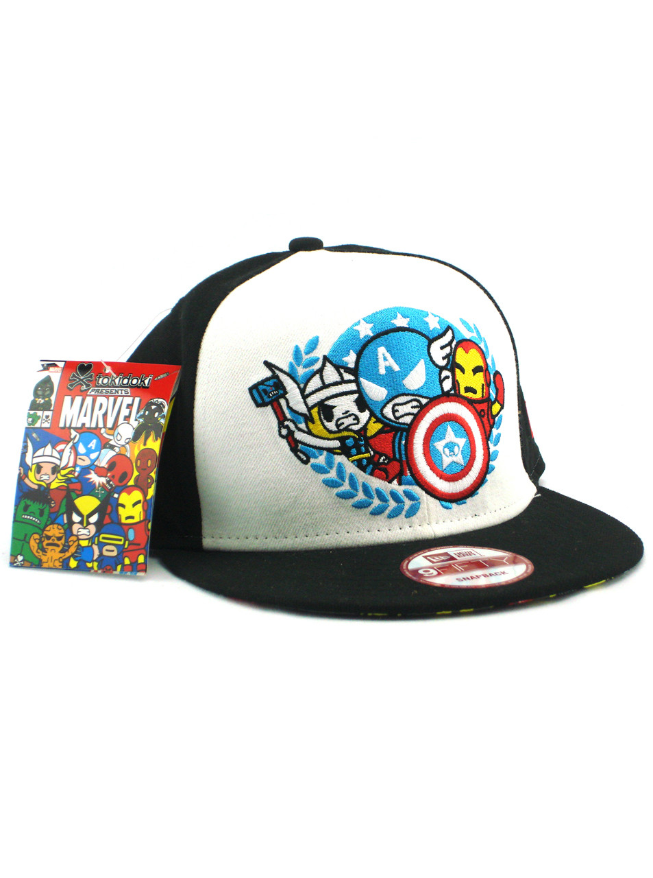 c2bad9d03d7 New Era Tokidoki Avengers Team Seal 9fifty Snapback Hat View 1