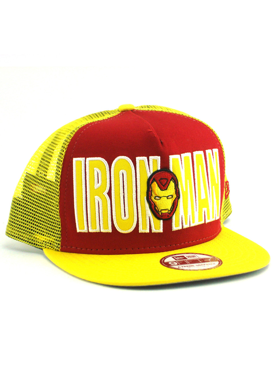 7adfddde ... inexpensive new era iron man mesh 9fifty a frame snapback adjustable hat  view 1 26ab0 39ed9