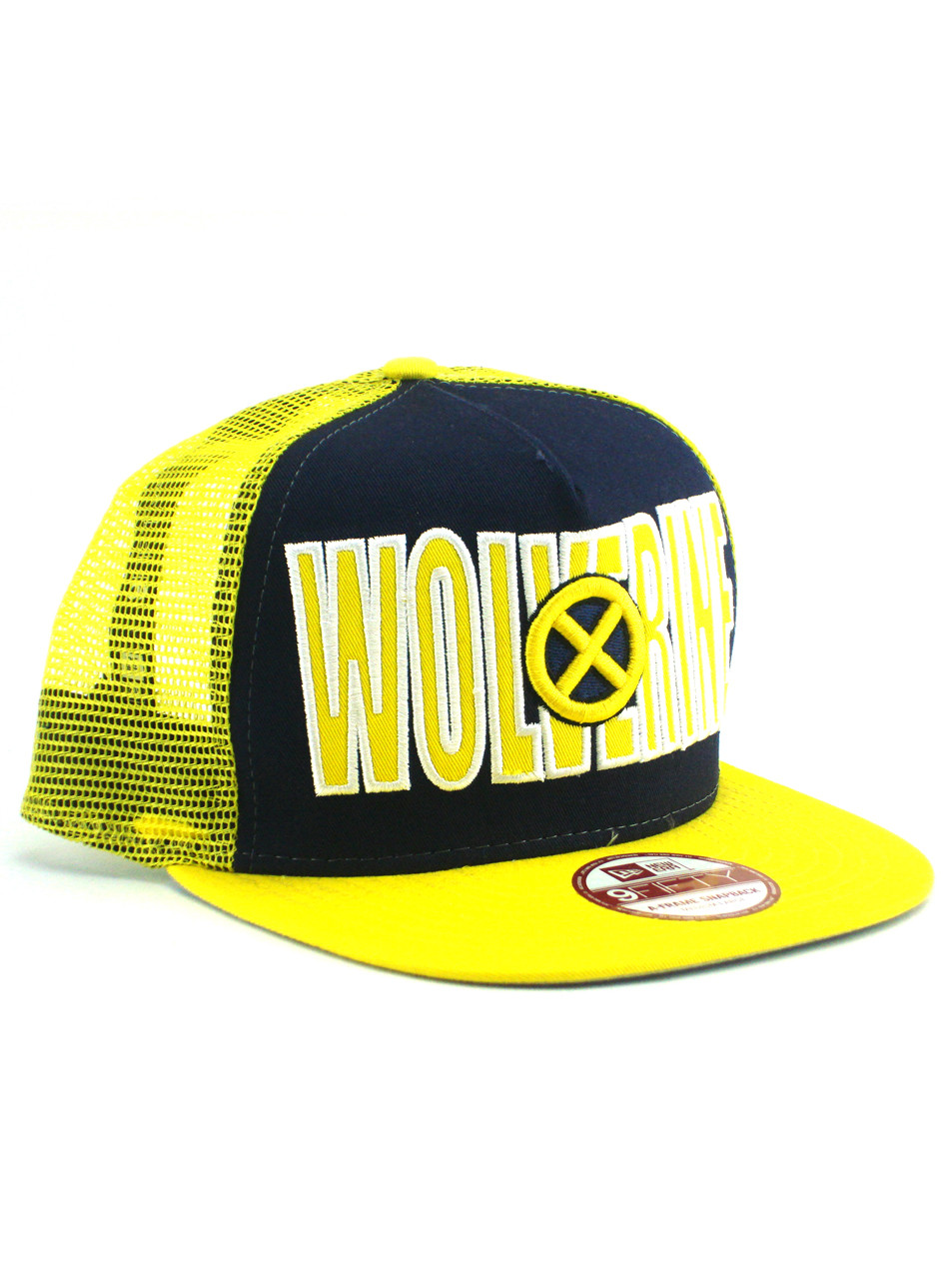 440cf6f29c157 New Era Wolverine Mesh 9fifty A-Frame Snapback Adjustable Hat View 1