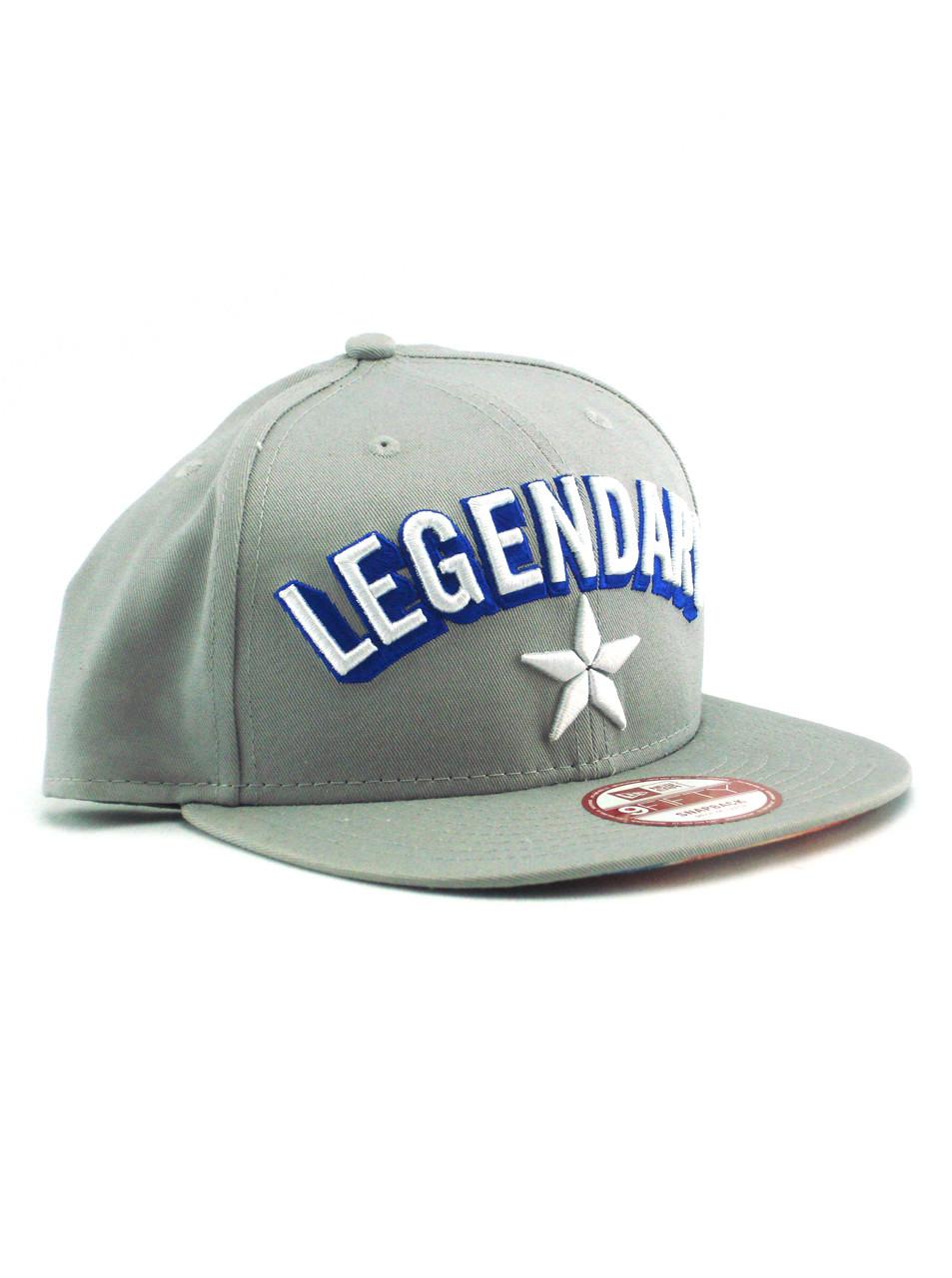 a5afc367cb8 New Era Legendary Captain America 9fifty Snapback Hat Grey View 1