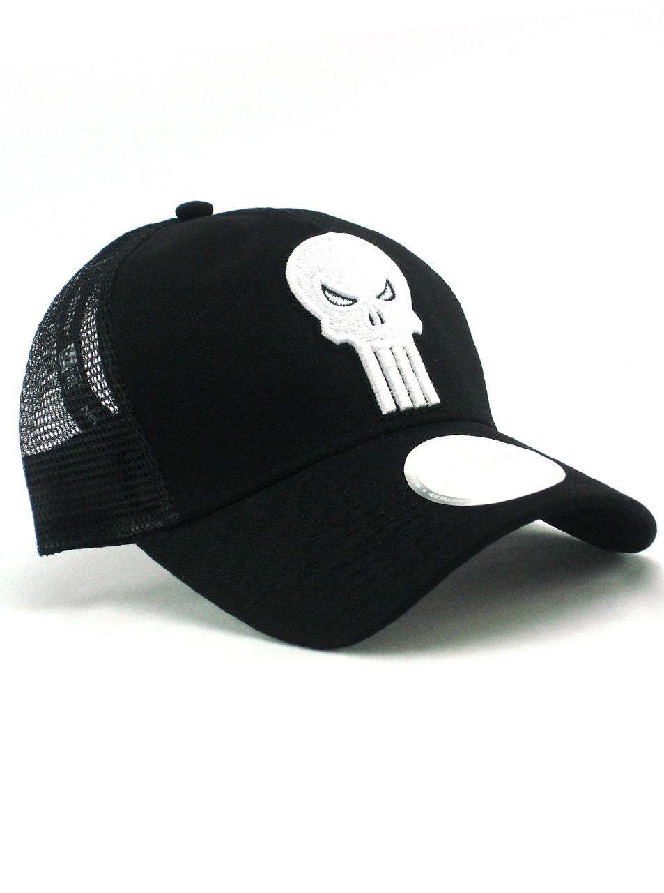 0a8af7f8394 New Era Punisher Adjustable Trucker Hat View 1