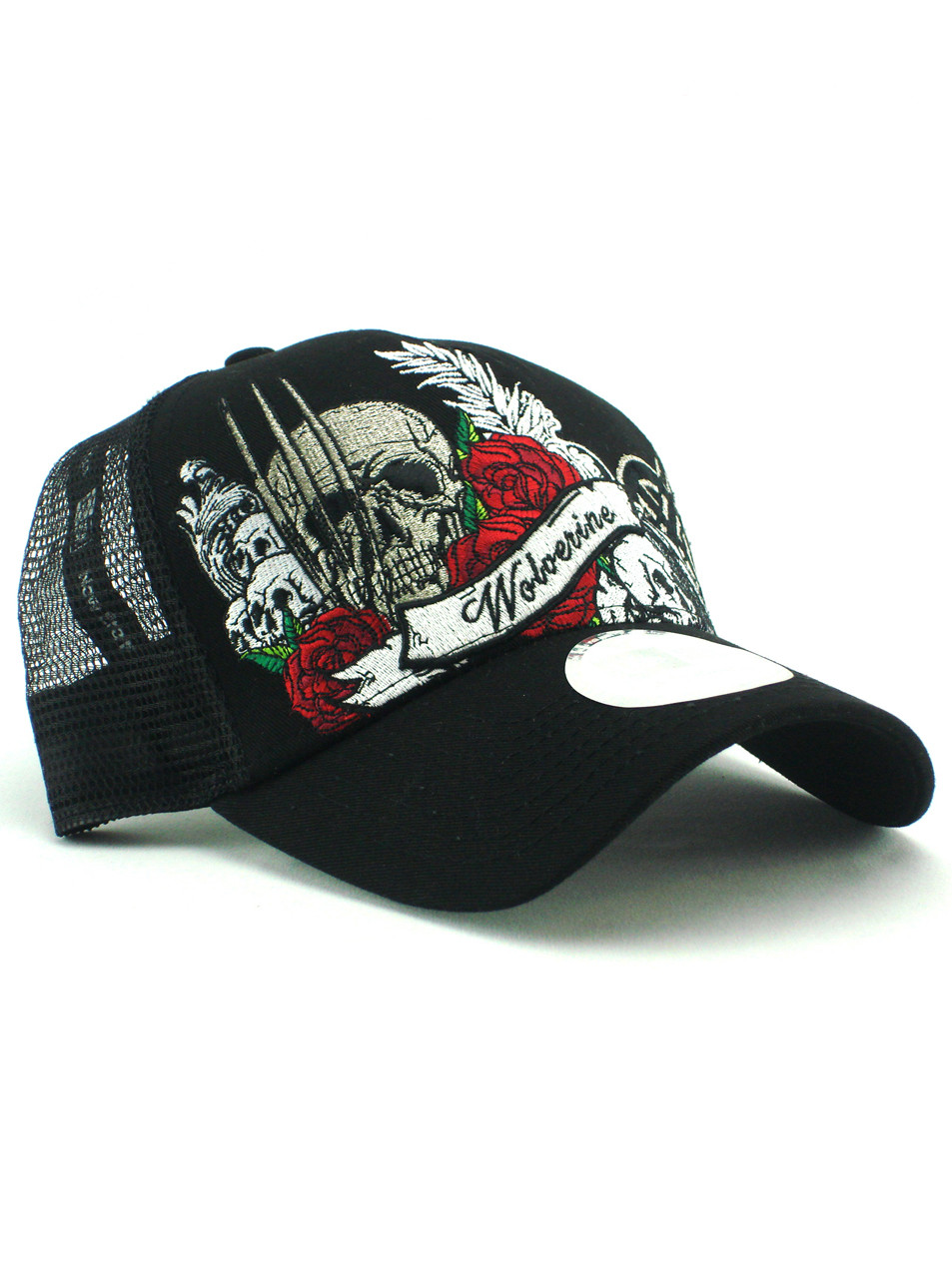 594c72e475b New Era Wolverine Designer Adjustable Trucker Hat View 1