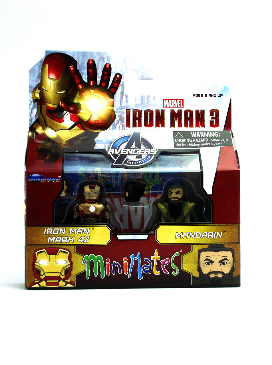 Marvel Minimates Iron Man Mark 42 & Mandarin Movie Series 49