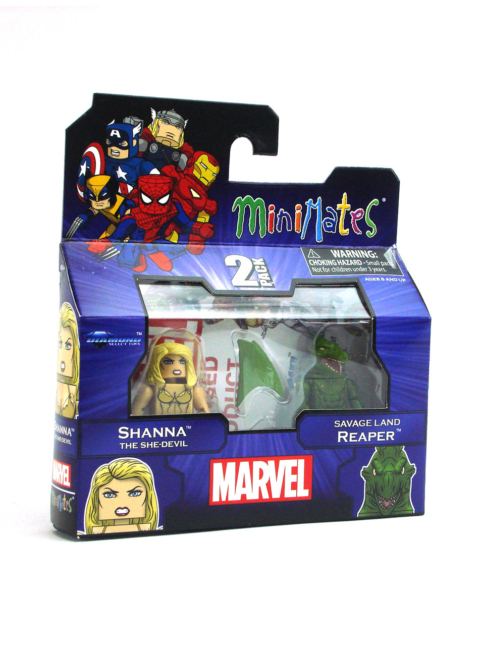 Marvel Minimates Series 51 Savage Land Reaper