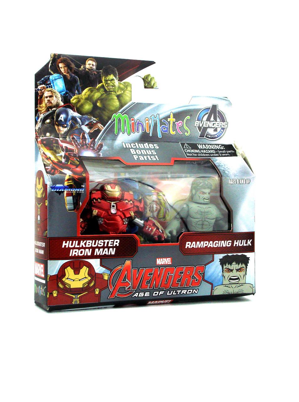 Rampaging Hulk Marvel Minimates Series 63 Avengers Age Of Ultron Mini-Figure
