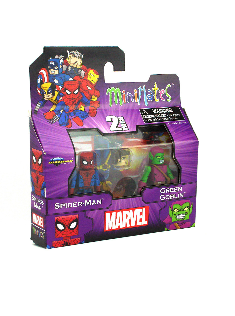 Marvel Minimates Spider-Man /& Green Goblin Best Of Series