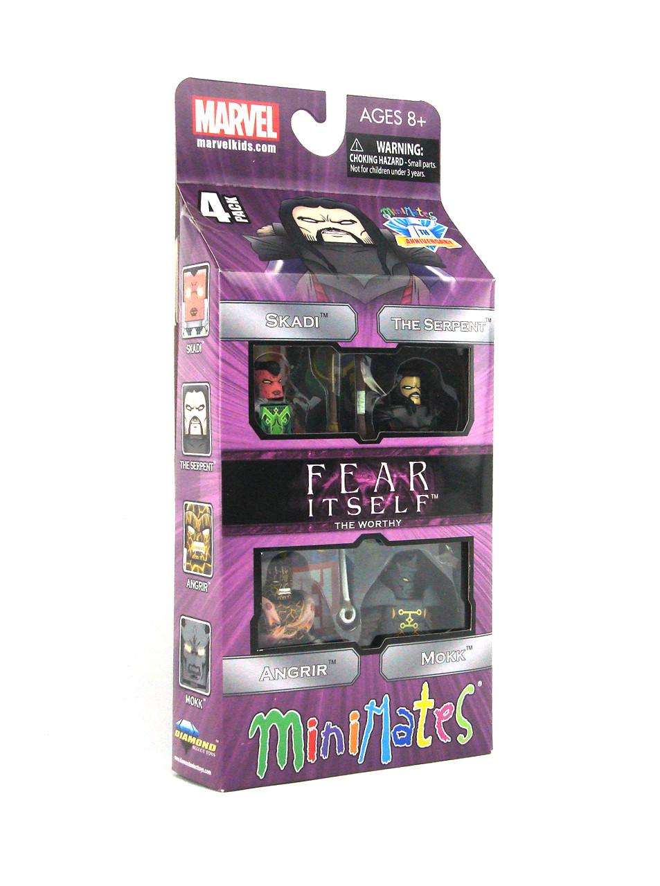 "Marvel Minimates Fear Itself /""The Worthy/"" Box Set"