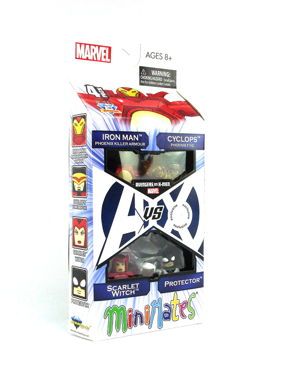 Marvel Minimates Avengers vs X-Men # 2 Phoenix Killer Iron Man