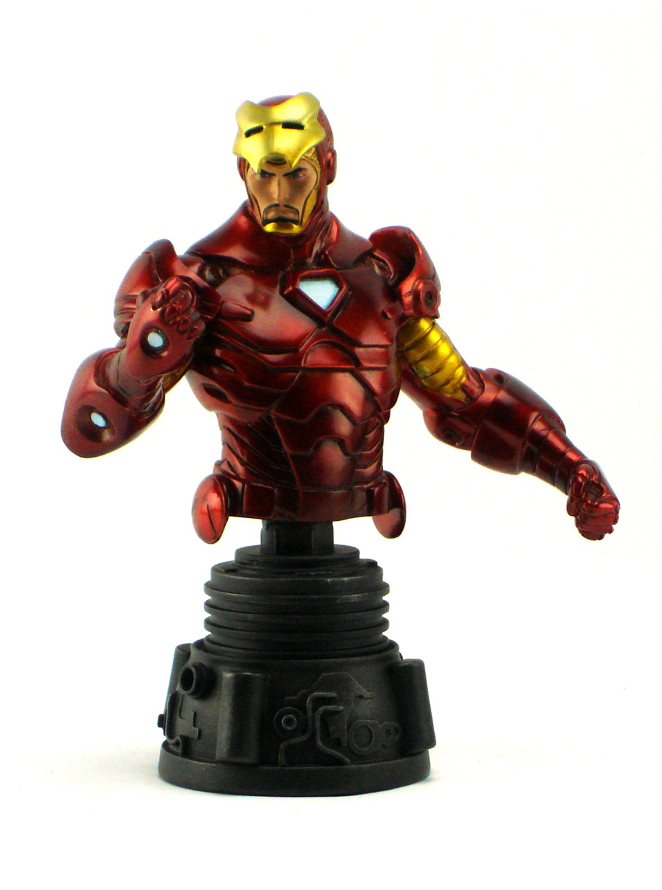 Bowen designs the invincible iron man mini bust boondock - Mini iron man ...