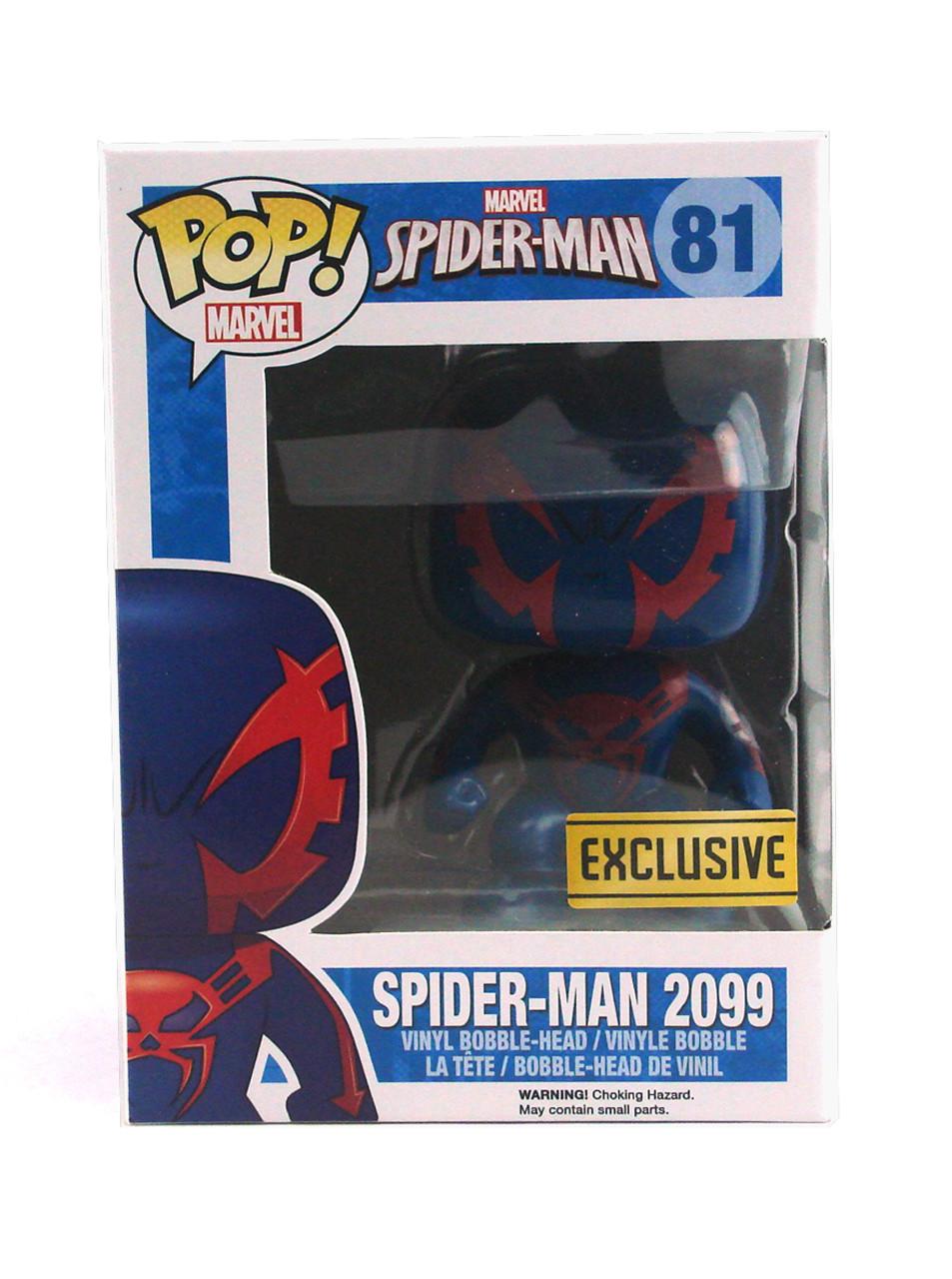 Marvel Spider-Man Exclusive Spider-Man 2099 #81 Funko Pop