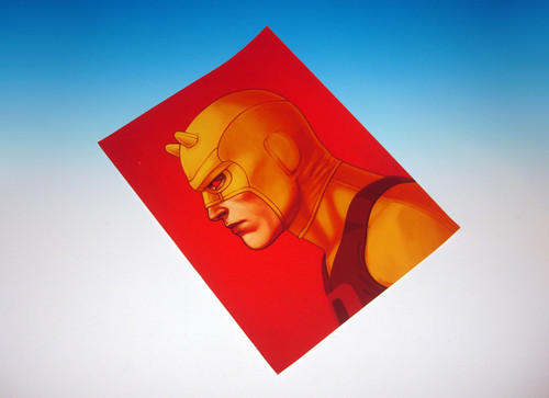 Mondo Exclusive Mike Mitchell Daredevil Giclee Print Production Proof