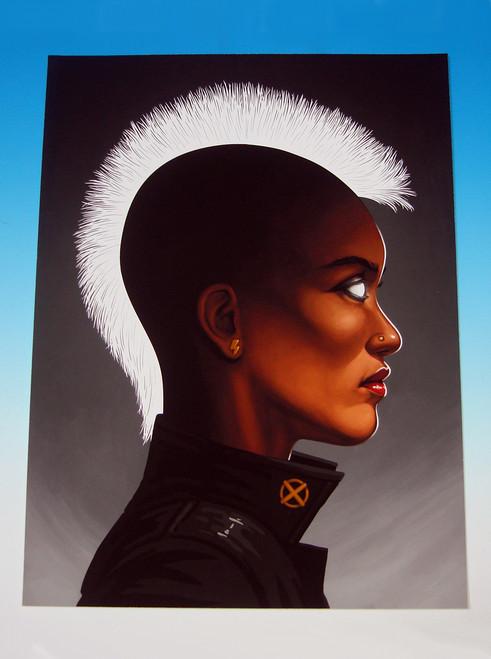 Mondo Storm X-Men Mike Mitchell Portrait Giclee Proof