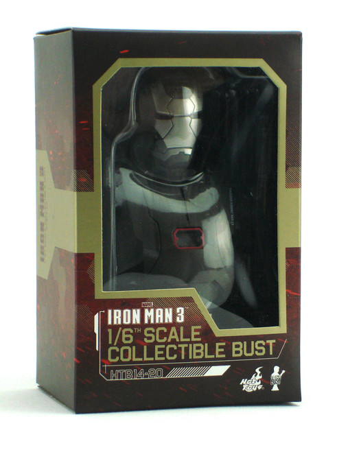 Hot Toys Iron Man 3 War Machine Mark Ii 16 Scale Collectible Bust
