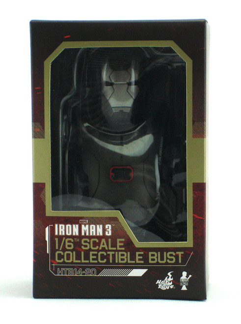 Hot Toys Iron Man 3 War Machine Mark II 1/6 Scale Collectible Bust View 1