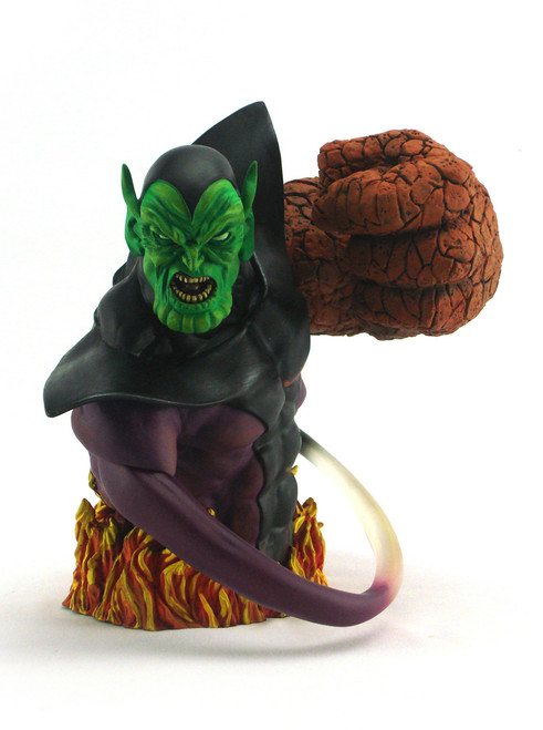 Super Skrull Dynamic Forces Resin Bust View 1