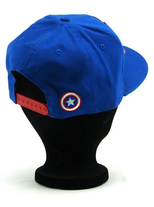 wholesale dealer e1756 e6667 ... New Era Captain America Hero Face 9fifty Snapback Hat View 6