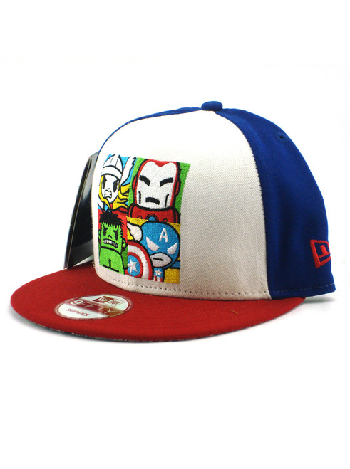 ... New Era Tokidoki Avengers Square Portrait 9fifty Snapback Hat View 2 ... 9878ac314e0d