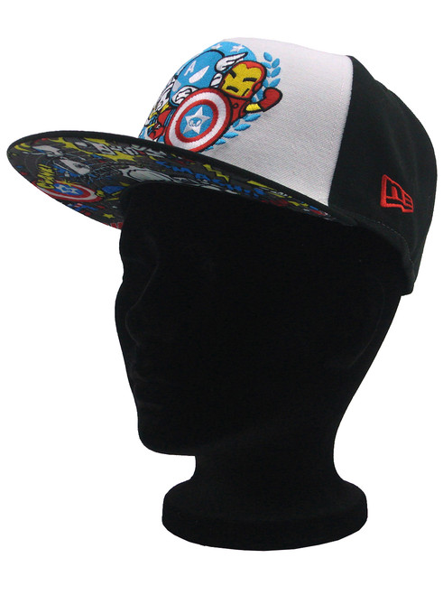 huge selection of 51829 74d5f ... New Era Tokidoki Avengers Team Seal 9fifty Snapback Hat View 4 ...