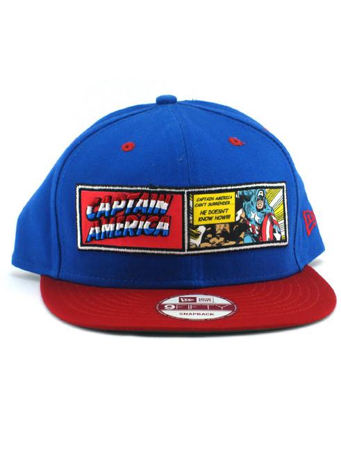 ... New Era Captain America Comic Strip 9fifty Snapback Hat View 3 ... f7fad7642ca