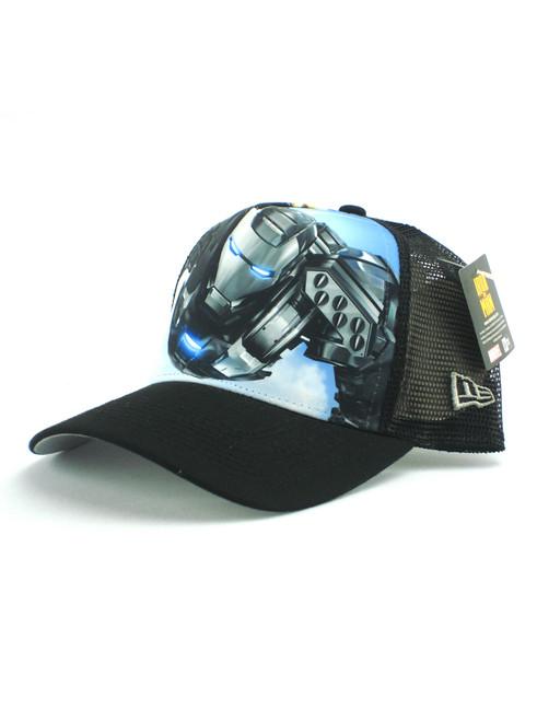 ... New Era War Machine Iron Man 2 Trucker Hat View 2 ... 350fae5ac704