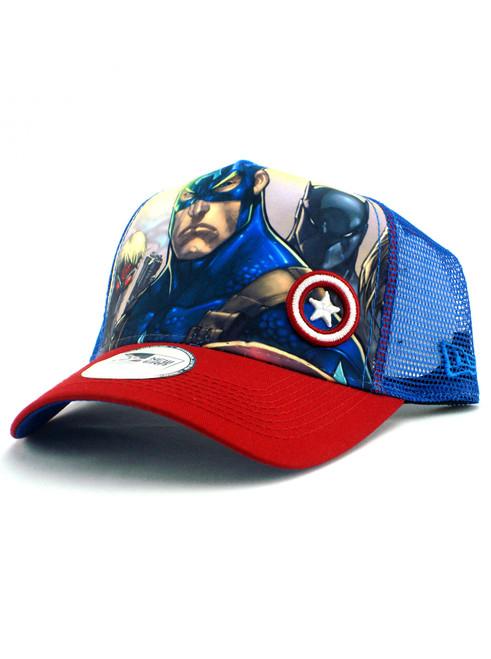 ... New Era Ultimate Avengers Trucker Hat View 2 ... 7b962c7f9b6