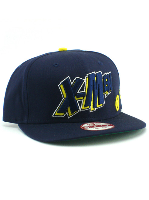 New Era X-Men Comic Text 9fifty Snapback Hat View 1