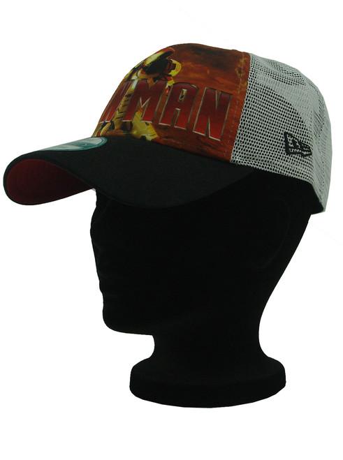 a58a43a86b9 ... New Era Iron Man 3 War Machine 9forty Adjustable Trucker Hat View 4 ...