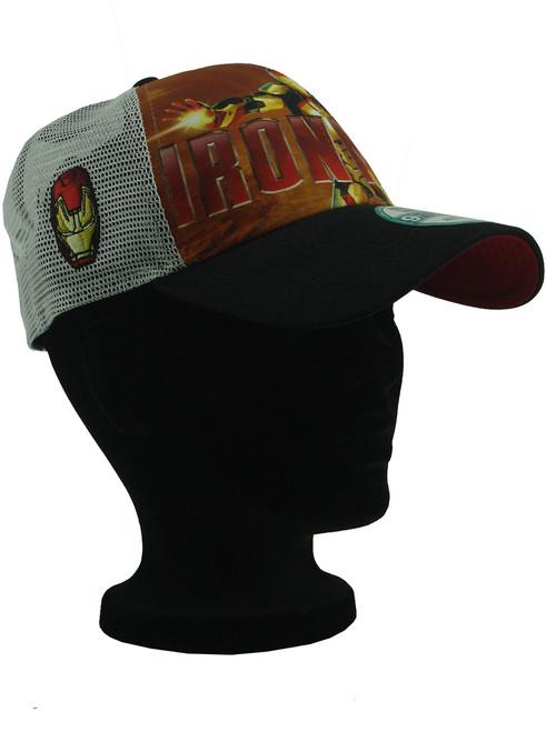2f7f73133b3 ... New Era Iron Man 3 War Machine 9forty Adjustable Trucker Hat View 5 ...