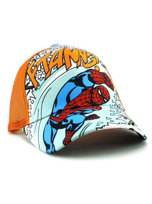 New Era Spider-Man Action Trucker Hat View 1