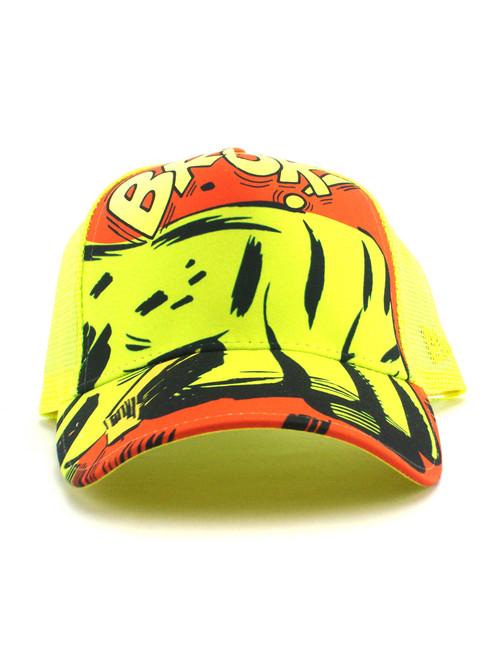 c88b01c9452 ... New Era Hulk Fist of Rage Trucker Hat View 3 ...