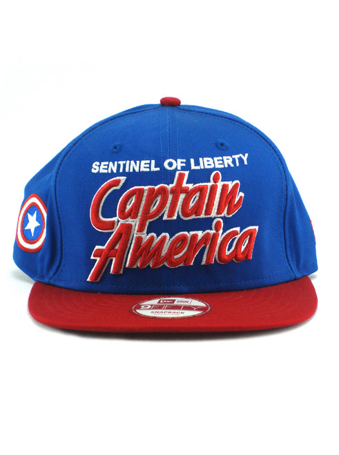 ... New Era Sentinel of Liberty Captain America Title 9fifty Snapback Hat  View 3 ... e165a8fbbe9