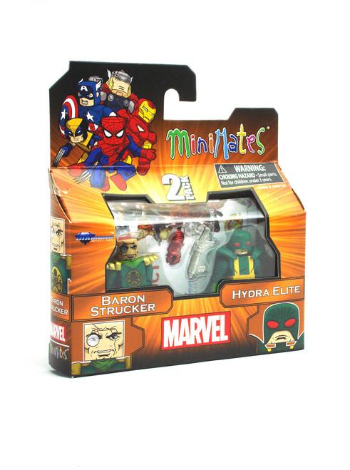 Marvel Minimates Baron Strucker & Hydra Elite 2-Pack Series 54 Right Side View