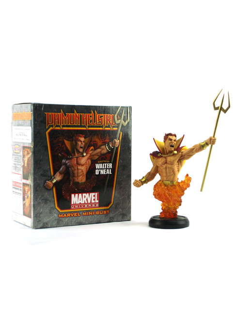 Bowen Designs Daimon Hellstrom Marvel Mini Bust View 2