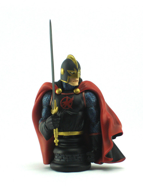 Bowen Designs Black Knight Red Version Mini Bust View 3