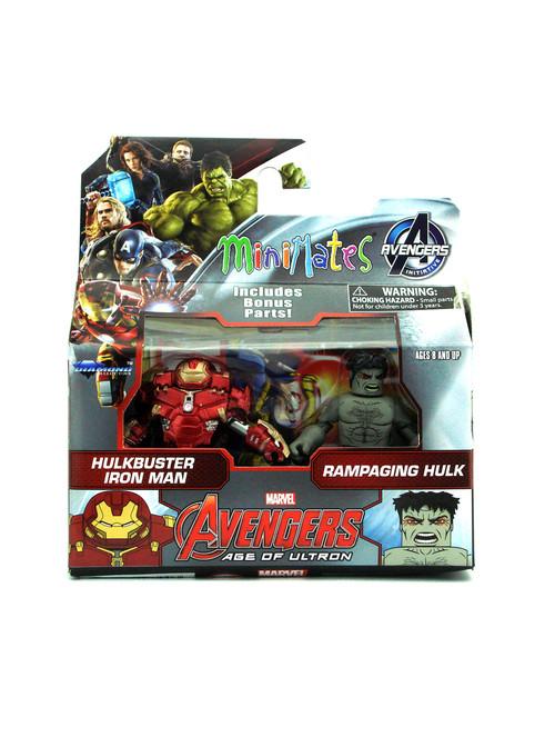 Marvel Minimates Tru Avengers Age of Ultron movie XLIII Iron Man /& Black Widow