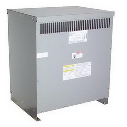 GE Distribution Transformer with the cover on