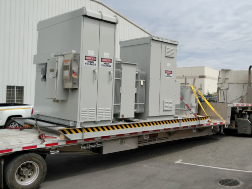 Completed mining substation overhaul