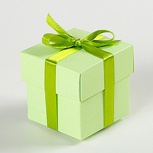 Light green box