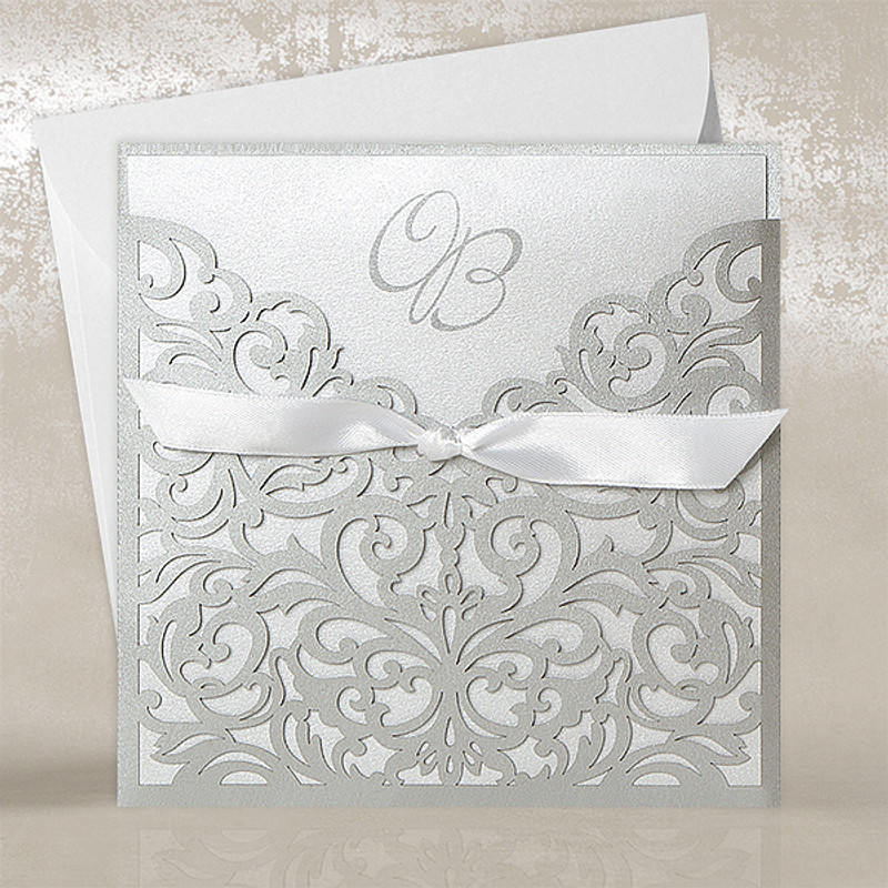 Filigree Pocket Silver 80027