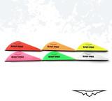 """2"""" Black Eagle Arrows Signature Q2I RaptX 2.0 Vanes"""