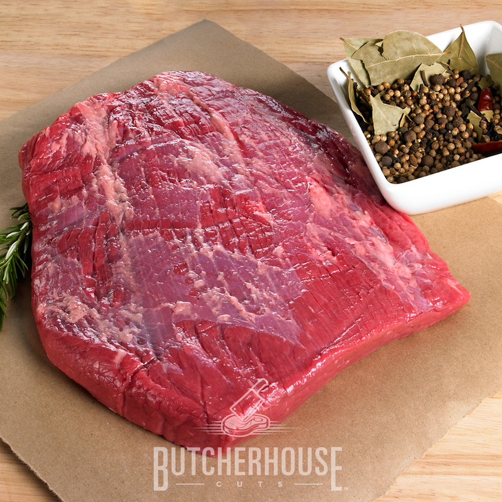 R&R Provision Company Corned Beef Brisket with Spices brought to you by ButcherHouse Cuts