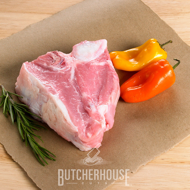 R&R Provision Company Veal Loin Chop brought to you by ButcherHouse Cuts