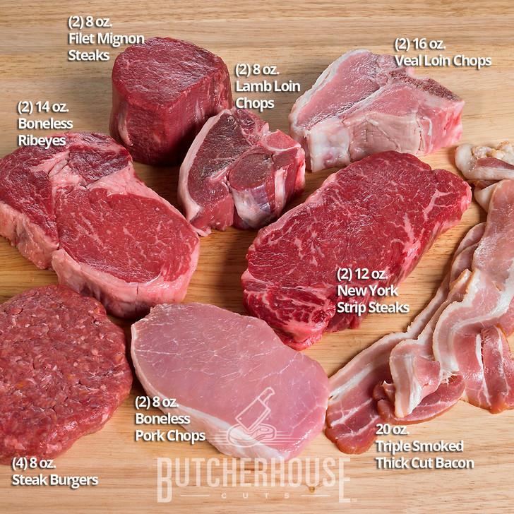 Meat Lover's Sampler Gift Pack