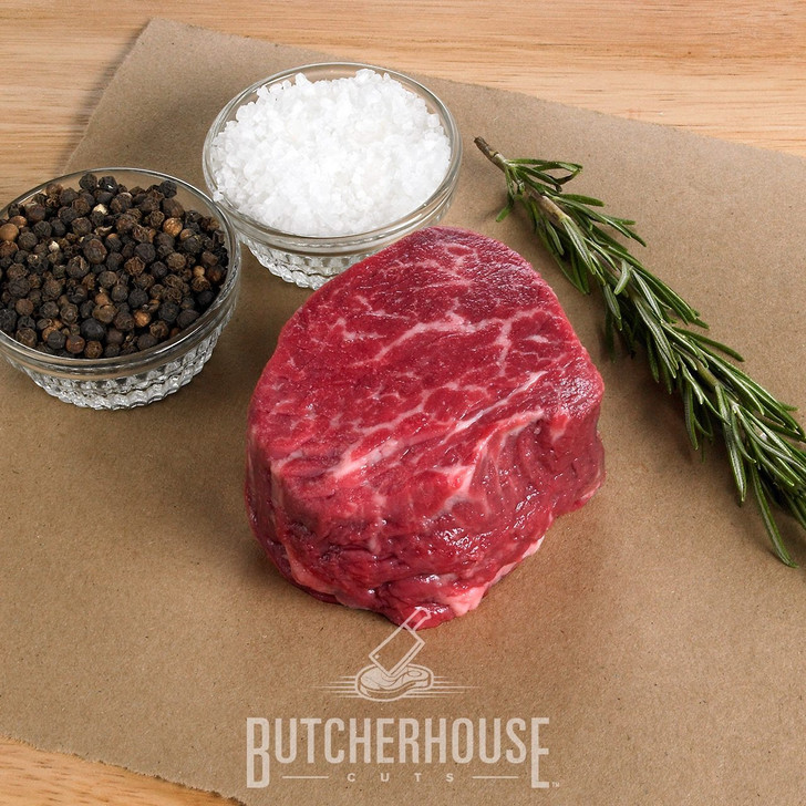 PROMO two 4 oz. USDA Choice+ Center Cut Filet Mignon