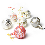 'Tis the Season for Happy Everything! Holiday Ornaments