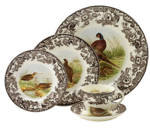 Woodland 5-Piece Place Setting by Spode - Special Order