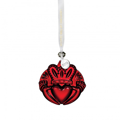 Claddagh Ornament Red by Waterford
